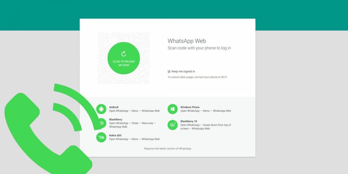 WhatsApp Web permitirá hacer videollamadas ¿cómo funcionará?
