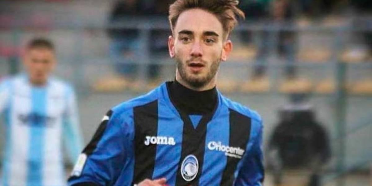 Luto en el fútbol italiano por muerte de un canterano del Atalanta que sufrió un aneurisma mientras entrenaba en su jardín