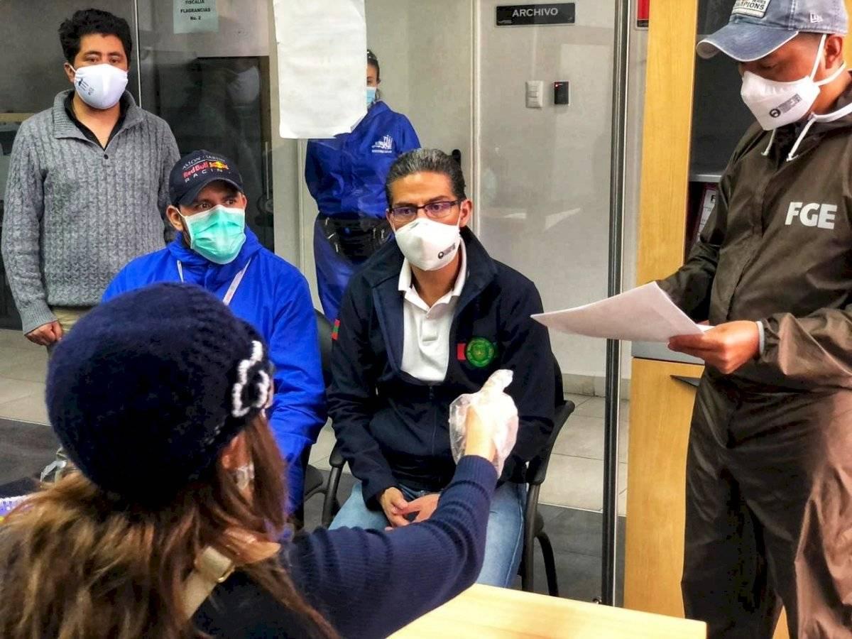 Alcalde de Ambato pone la denuncia por saqueos