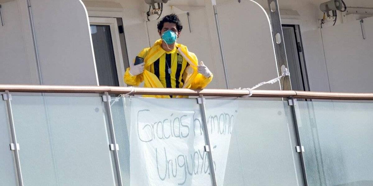 Uruguay: Desembarcan tripulación de crucero infectado con coronavirus