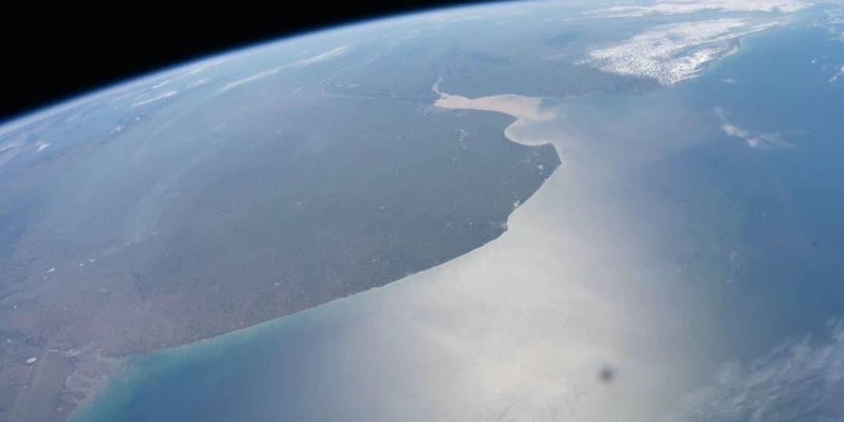 La NASA difunde una nueva imagen de Argentina desde la órbita terrestre