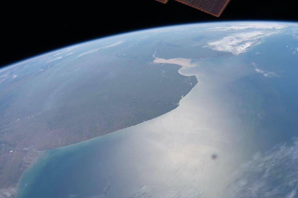El territorio argentino visto por la NASA