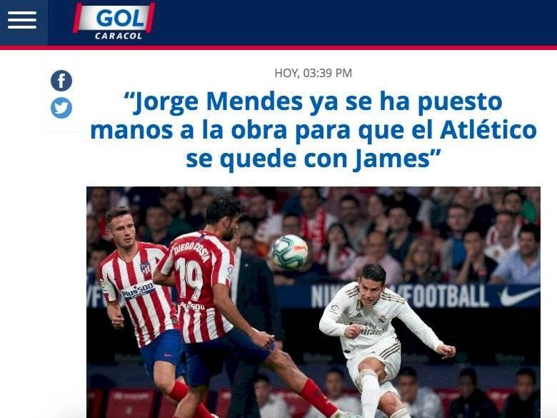 James al Atlético