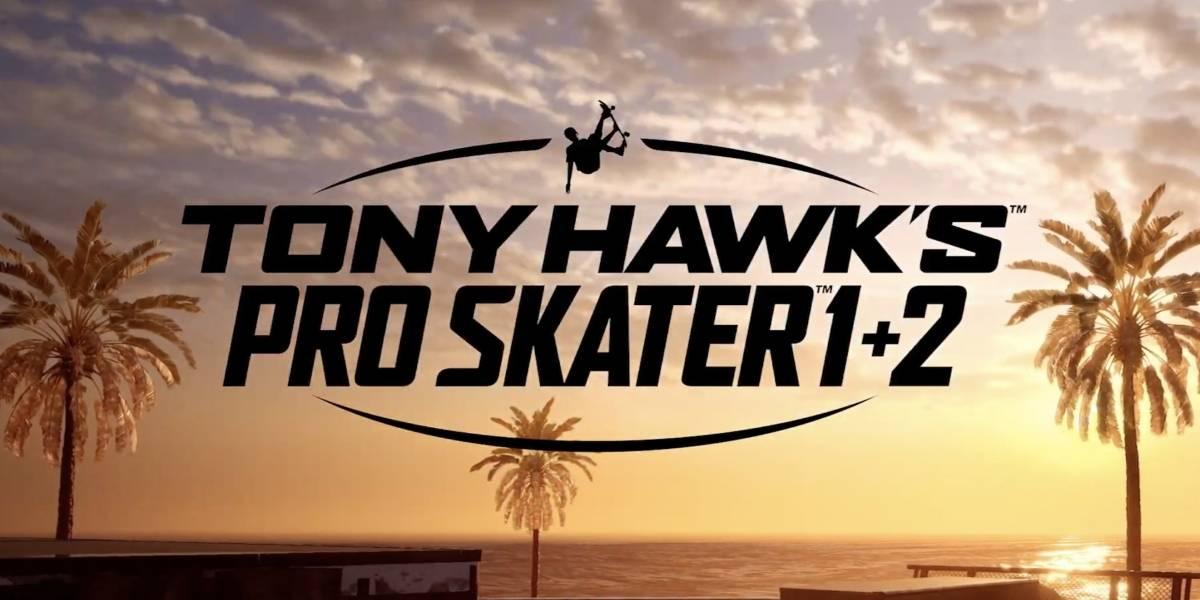 Confirmado: habrá un remaster de Tony Hawk's Pro Skater 1 y 2 y ya hay fecha de lanzamiento