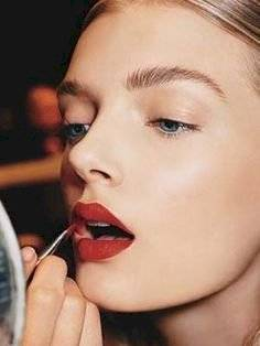 cómo pintarse los labios correctamente