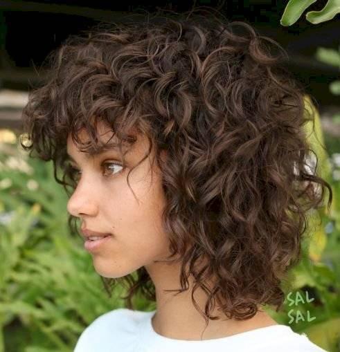 cortes para cabello largo y rizado