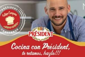 crepes Président en dos salsas