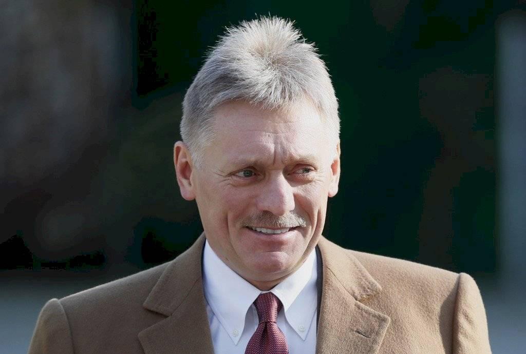 Dmitri Peskov, portavoz del presidente ruso