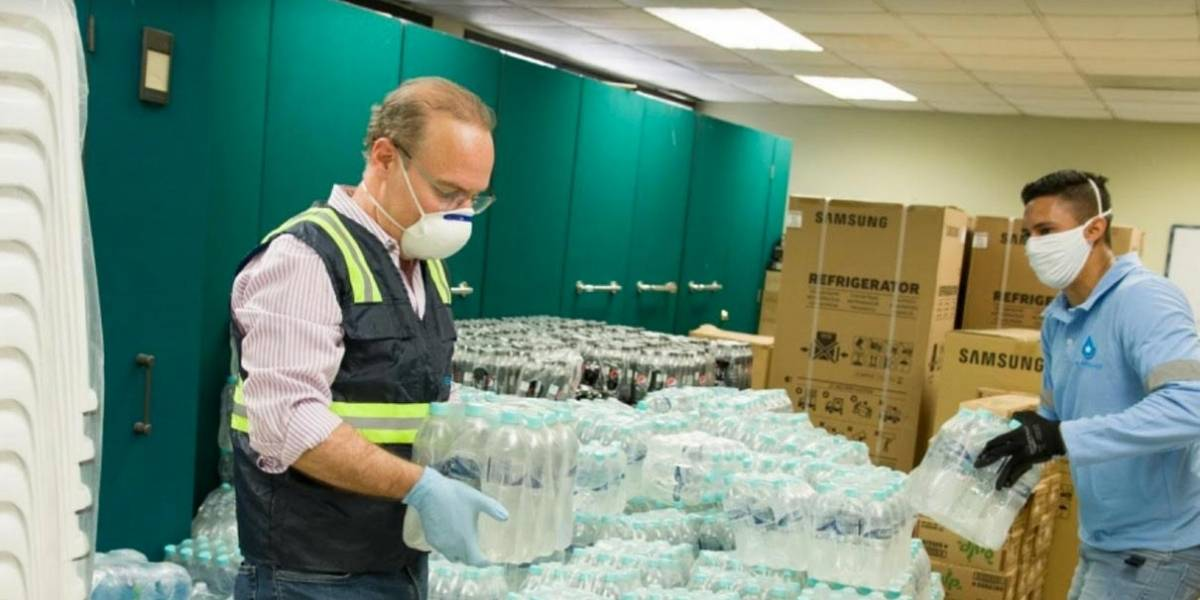 Emapag mantiene activa las donaciones en Guayaquil