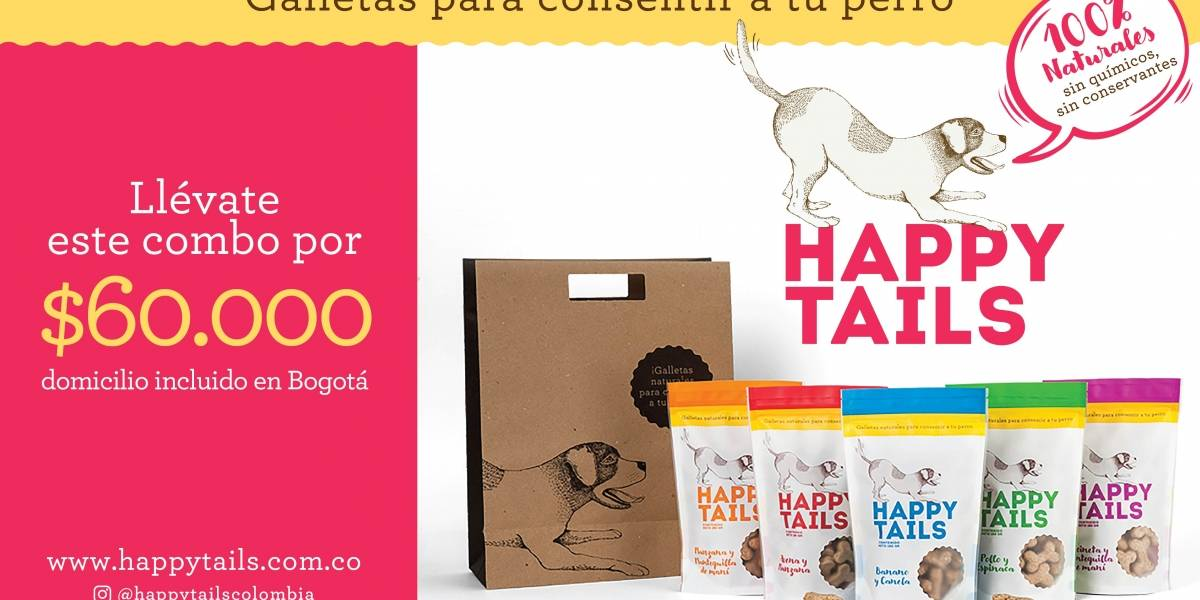 Happy Tails: productos de primera calidad para tu mascota