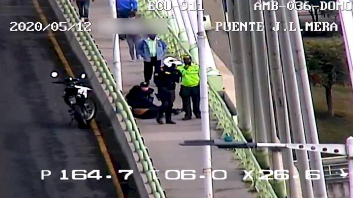 Mujer intentó suicidarse en Ambato
