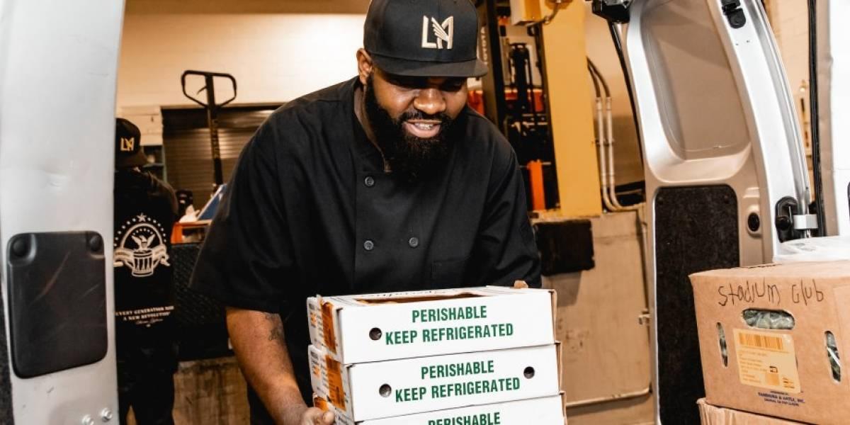 Los Ángeles FC entregará comida a personas afectadas por el coronavirus