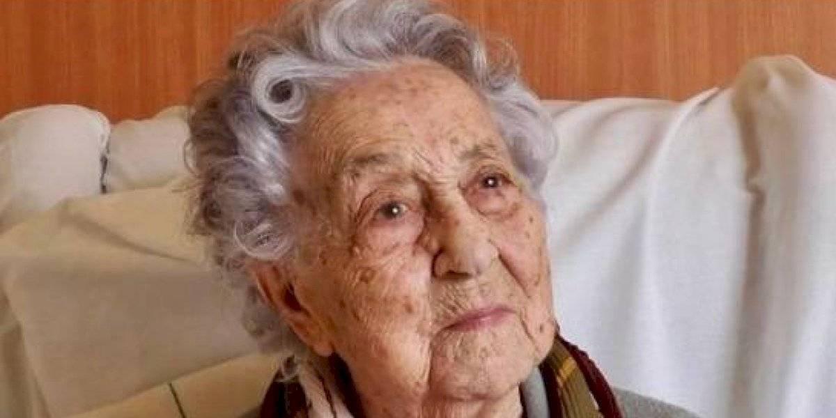 Mujer de 113 años supera el coronavirus en España: es una de las más longevas del mundo en recuperarse del covid-19