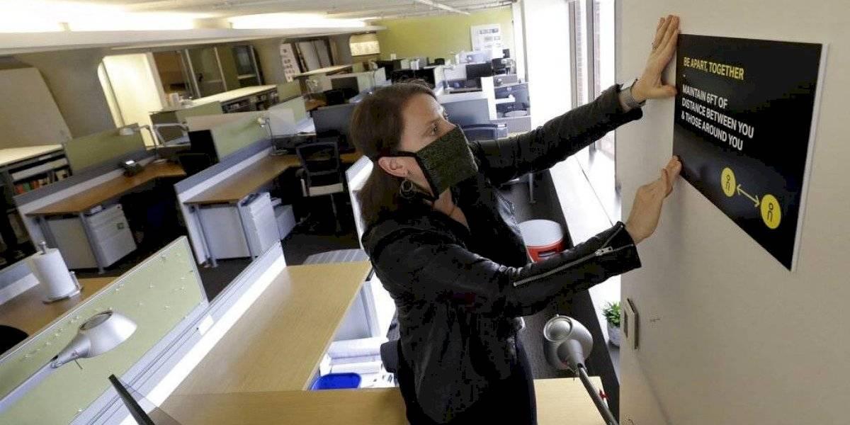 El trabajo en la oficina cambió para siempre por el coronavirus