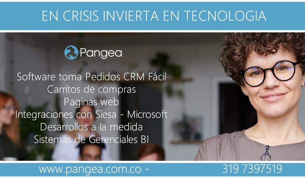 Pangea: soluciones a medida en software CRM