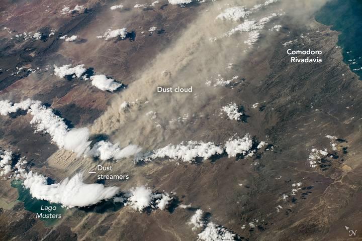 La explicación de las zonas de la Patagonia