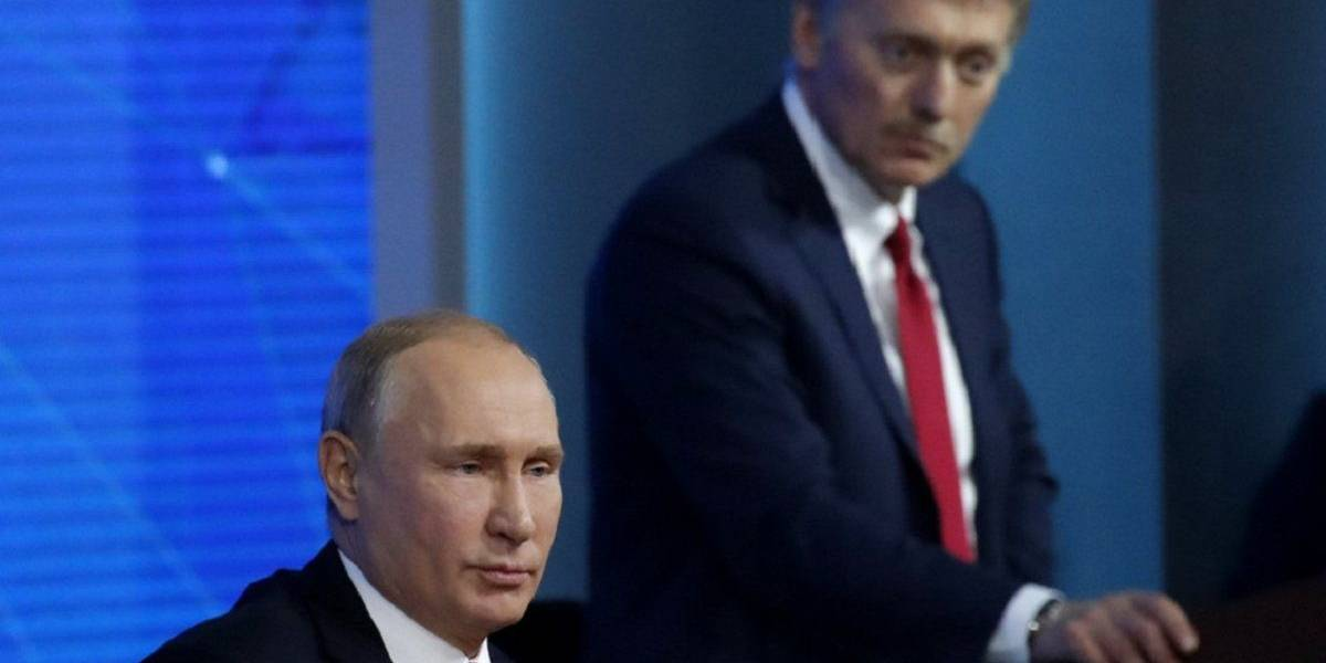 Acechando el Kremlin: vocero de Putin fue hospitalizado por coronavirus