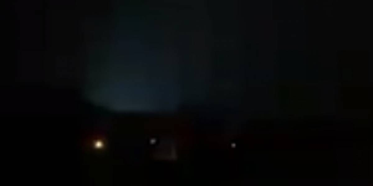 Vídeo que mostra suposta queda de OVNI em Magé intriga usuários