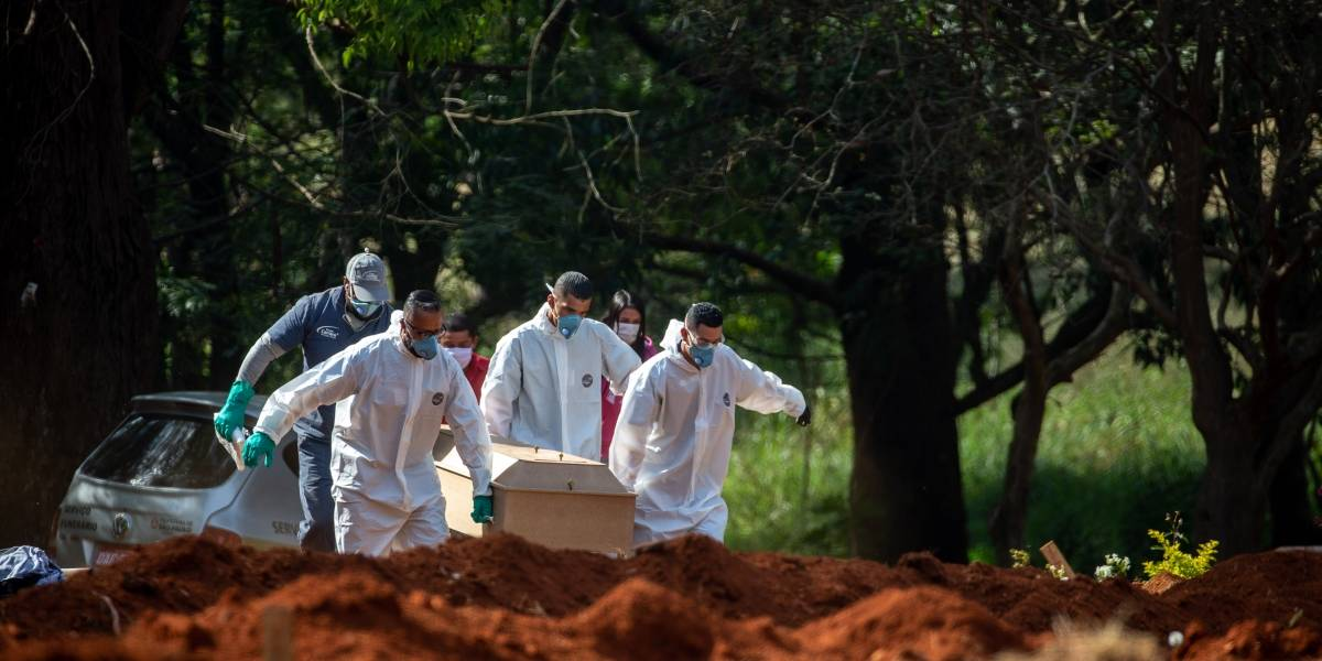 Brasil supera a Alemania en casos de COVID-19