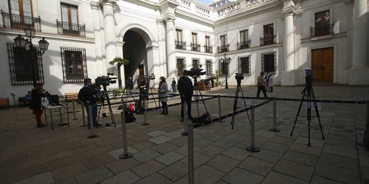 ¡Desde La Moneda a cuarentena! 48 funcionarios deberán aislarse por profesional de prensa que dio positivo en test Covid