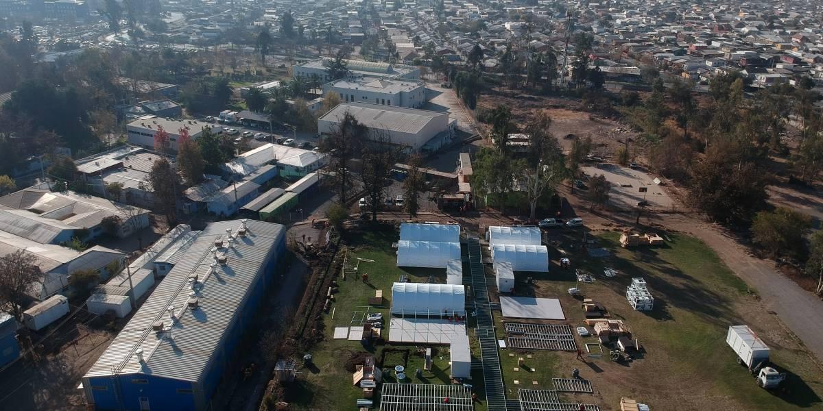 Así es el hospital modular que comenzará a operar a un costado del Sótero del Río