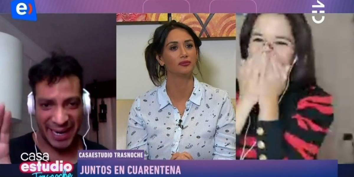 No se dio cuenta que estaba al aire: Pamela Díaz sufre chascarro por comentario sobre Carolina Soto