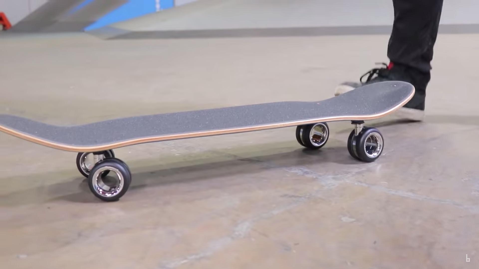 Apple llantas patineta
