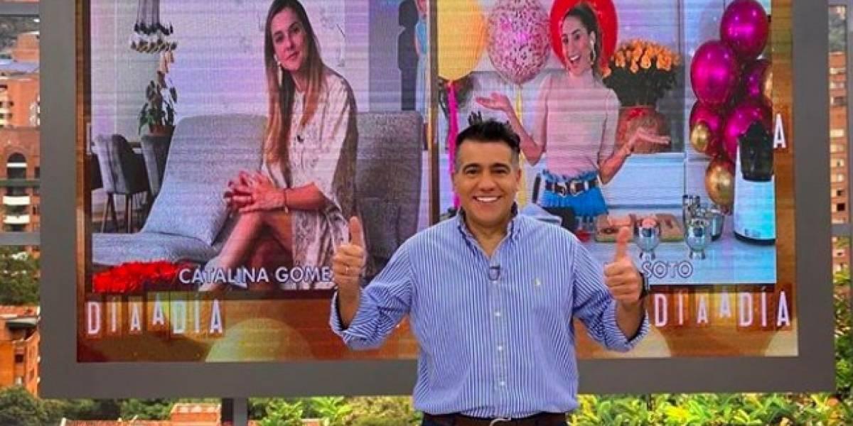 El secreto que Carlos Calero reveló de 'Día a día' en esta cuarentena