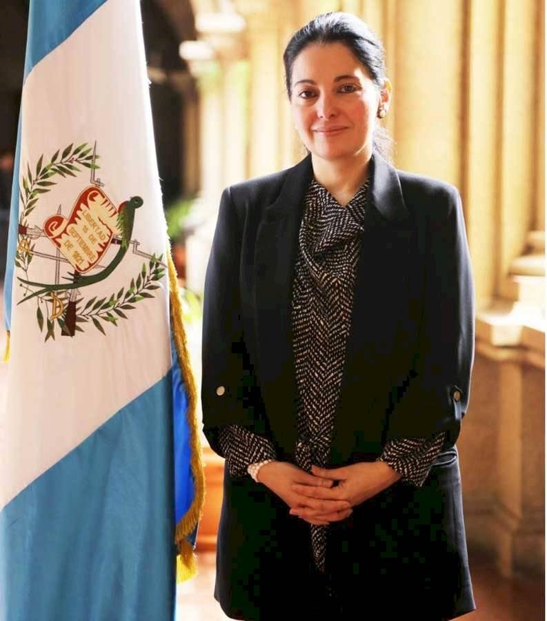 Viceministra Claudia Haydée Díaz León