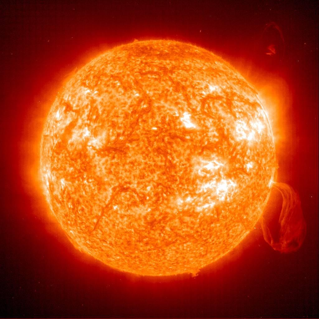 Ciencia espacio sol