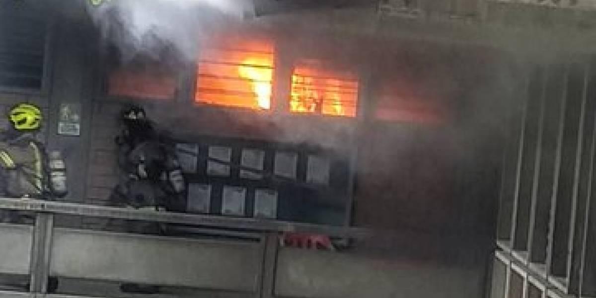 Universidad de Antioquia aclara lo que sucedió en el incendio de su laboratorio