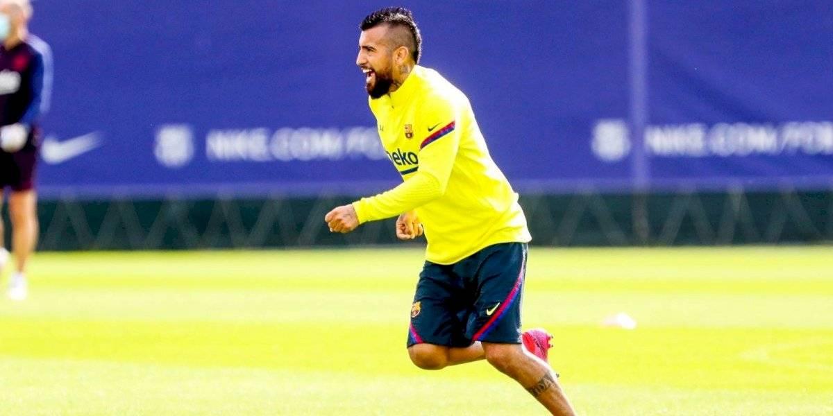 """En el Inter descartan inminente acuerdo con Vidal: """"No hay nada, todavía no hemos hablado de mercado entre nosotros"""""""