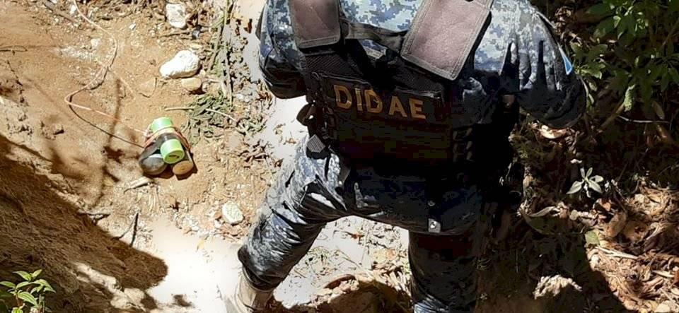 localizan explosivo en Quetzaltenango