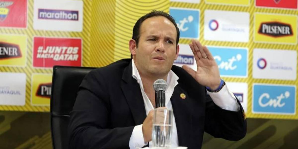 """Francisco Egas: """"Ecuador dispone de 774.000 dólares para sus clubes del fondo Conmebol"""""""