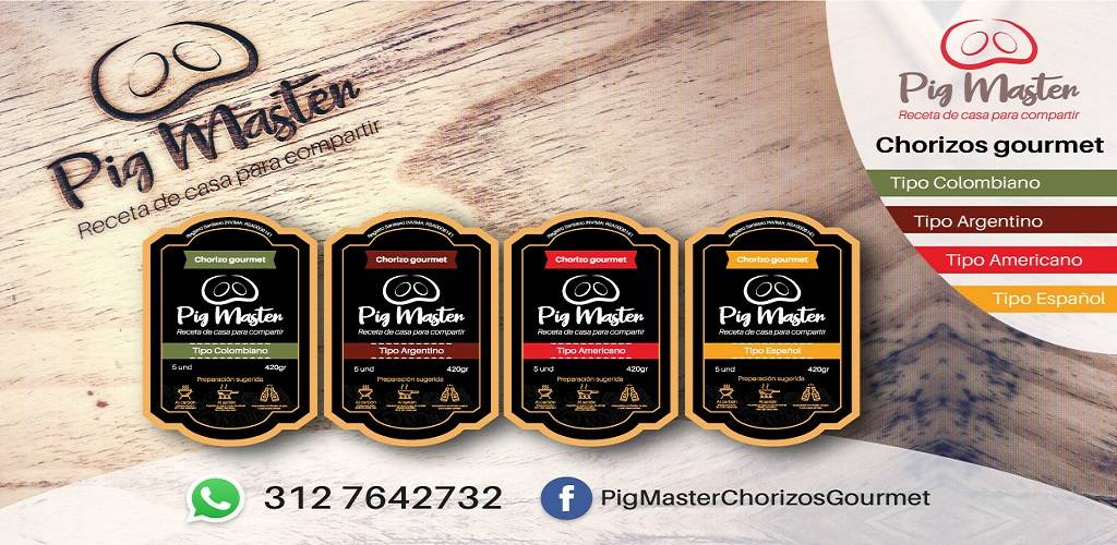 Pig Master: chorizos gourmet para ti