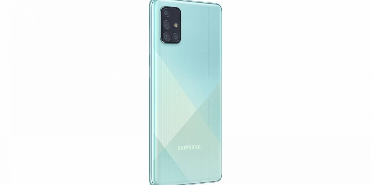 Probamos el celular Samsung Galaxy A71