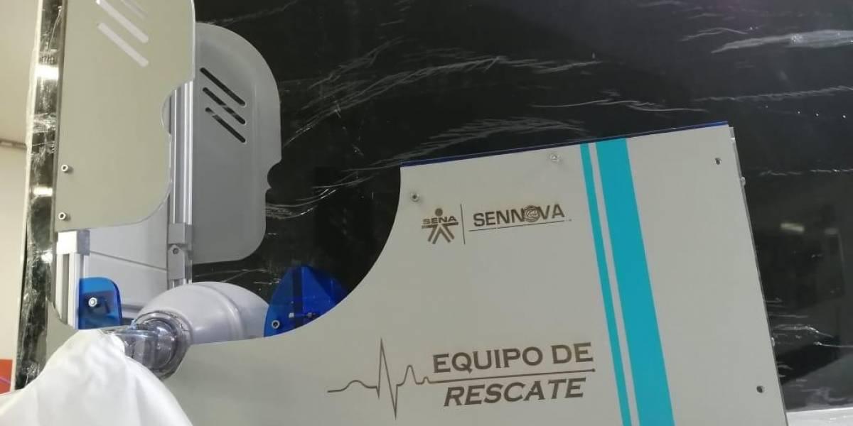Ventilador elaborado por institución educativa será cofinanciado por MinCiencias