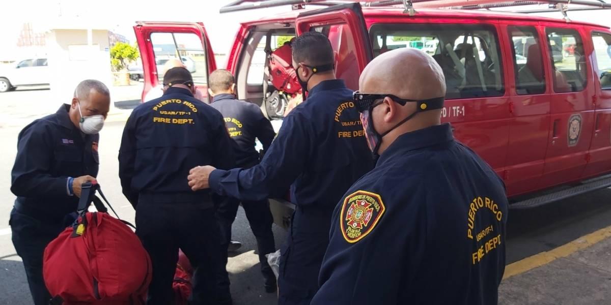 Bomberos de Puerto Rico parten a República Dominicana por fuego de grandes proporciones