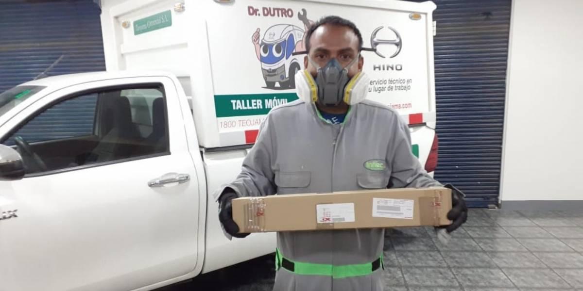 Teojama Comercial entrega repuestos a domicilio durante emergencia