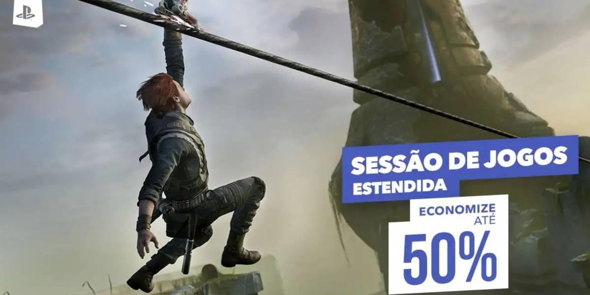 Promoção 'Sessão de Jogos Estendida' da PlayStation Store conta com novos títulos