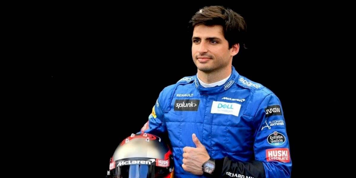 Fórmula Uno: Carlos Sainz llega a Ferrari por las próximas dos temporadas