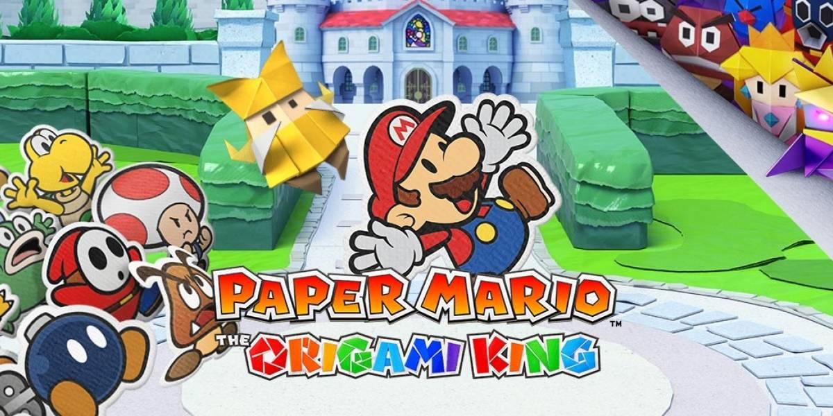 Nintendo anuncia novo 'Paper Mario' para o Switch em julho