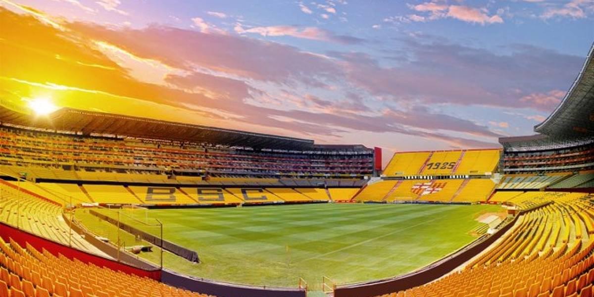 Estadios Monumental y Rodrigo Paz Delgado, candidatos a recibir finales de la Libertadores y Sudamericana