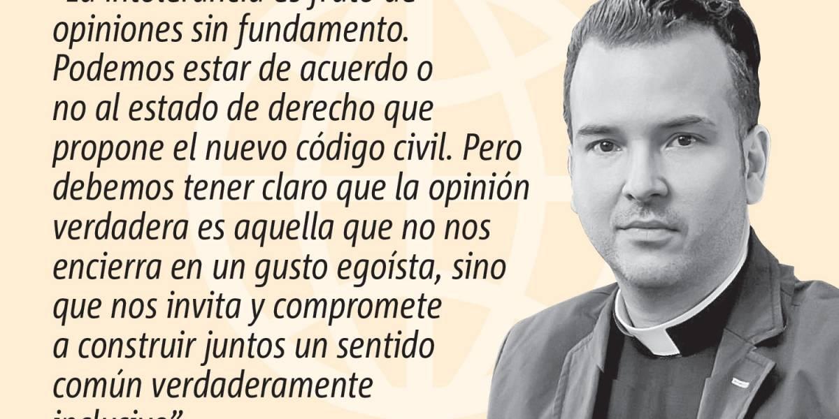 Opinión del Padre Orlando Lugo: Código civil, sí, por favor
