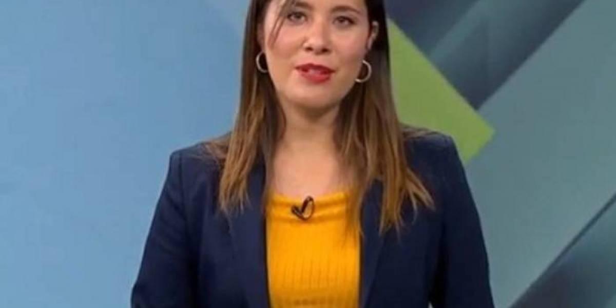 """Nueva periodista de CHV da positivo por coronavirus: """"No tengo certeza de dónde ni cómo me contagié"""""""