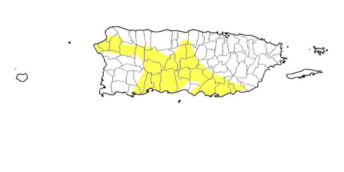 Panorama de sequía presenta expansión significativa hacia el norte y noroeste