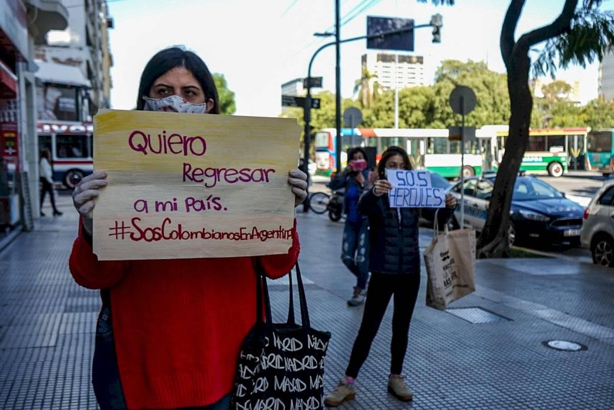 Exigen al Gobierno colombiano su repatriación Cortesía