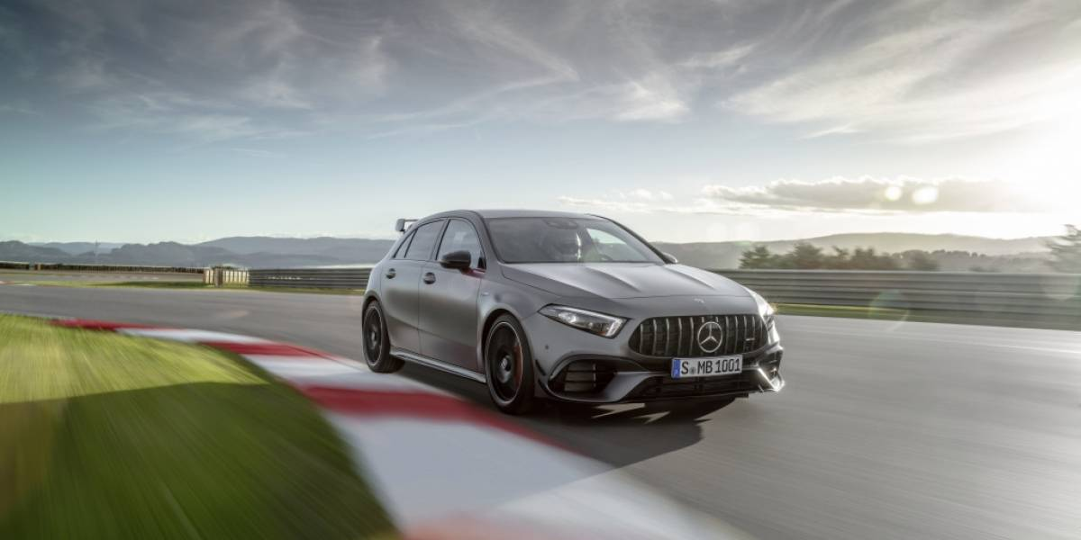 Mercedes AMG A45S, mucha potencia en formato hatchback