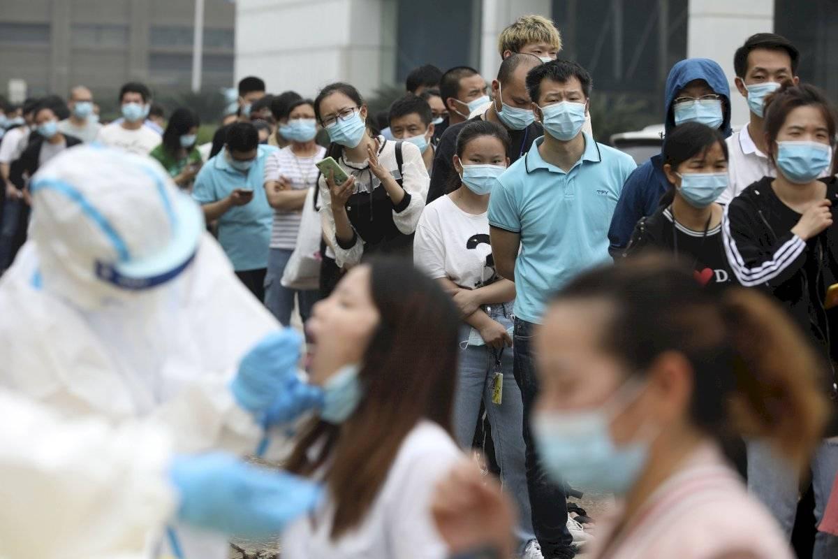 Pruebas masivas en Wuhan