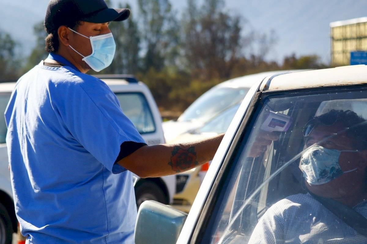 barrera sanitaria Casablanca